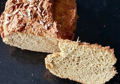 Pão Maravilha 2ª versão  – Sem Glúten, Sem Lacticínios
