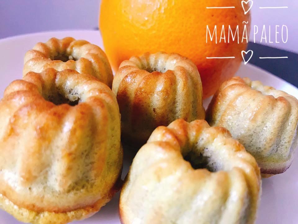 Muffins de Laranja – Paleo, Sem Glúten, Sem Lacticínios