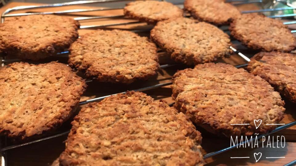Bolachas Crocantes  – Vegan, Sem Glúten, Sem Lacticínios