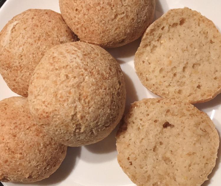 Bolinhas de Pão – Vegan, Paleo, Sem Glúten
