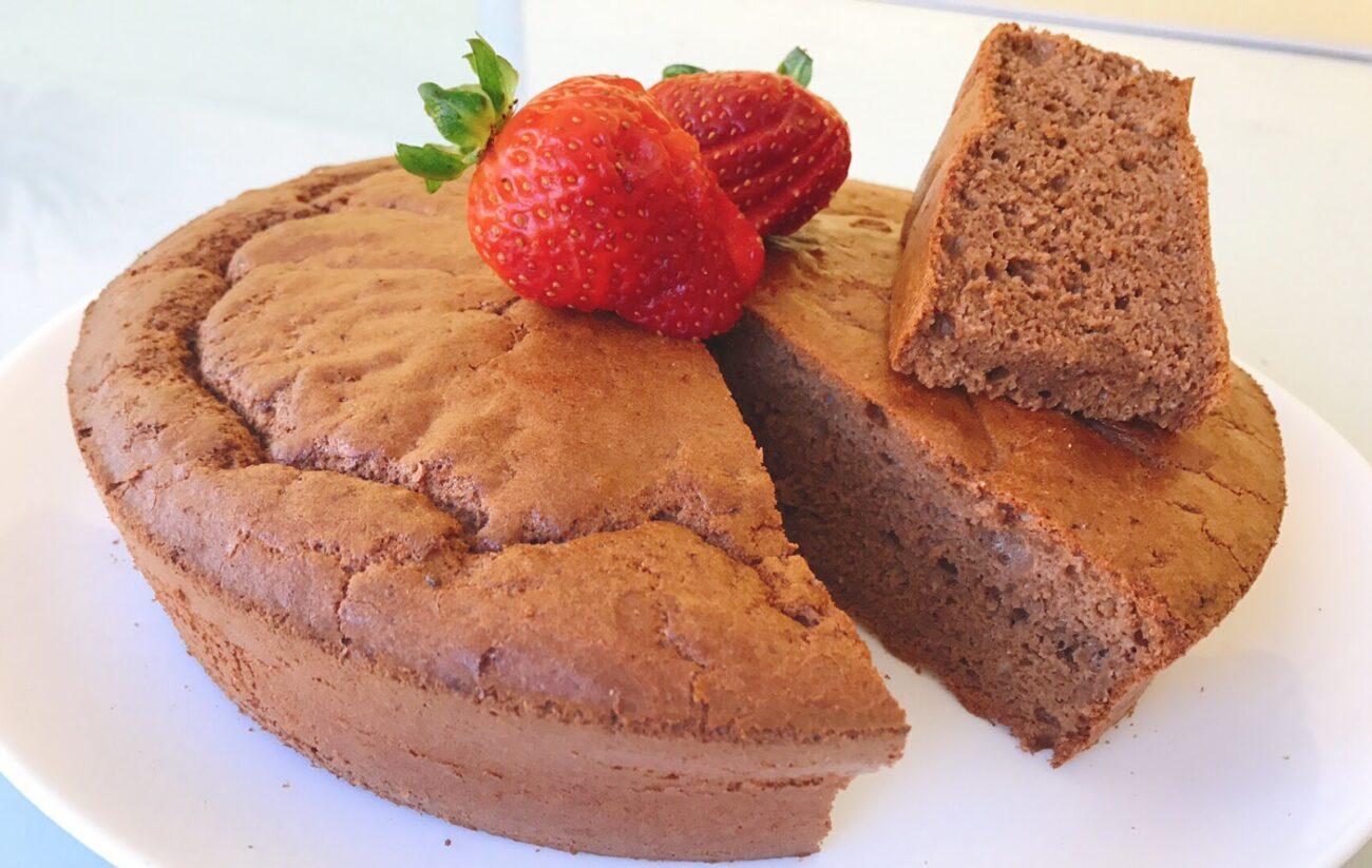 Bolo de Chocolate – Sem Glúten, Sem Lacticínios, Sem Adição de Açúcar