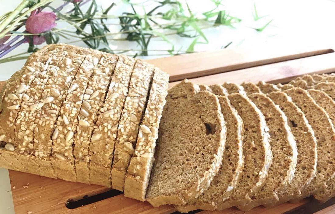 Pão de Sanduíche – Low Carb, Sem Glúten, Sem Lacticínios