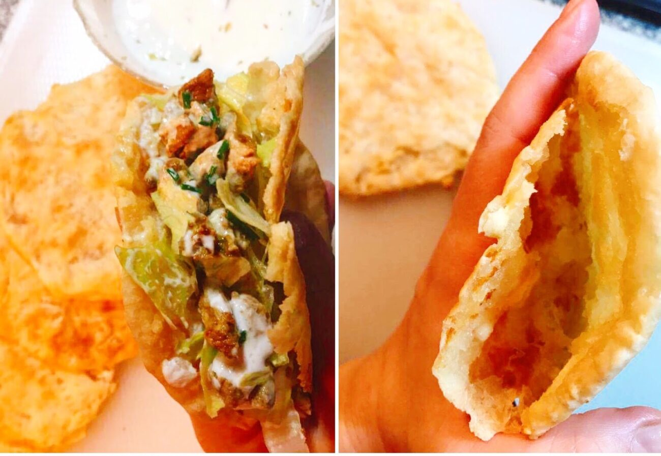 Pita Shoarma – Carne, Pão Pita e Molho