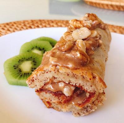 Mini Torta ou Panqueca de Amêndoa e Noz – Low Carb, Sem Glúten, Sem Lacticínios