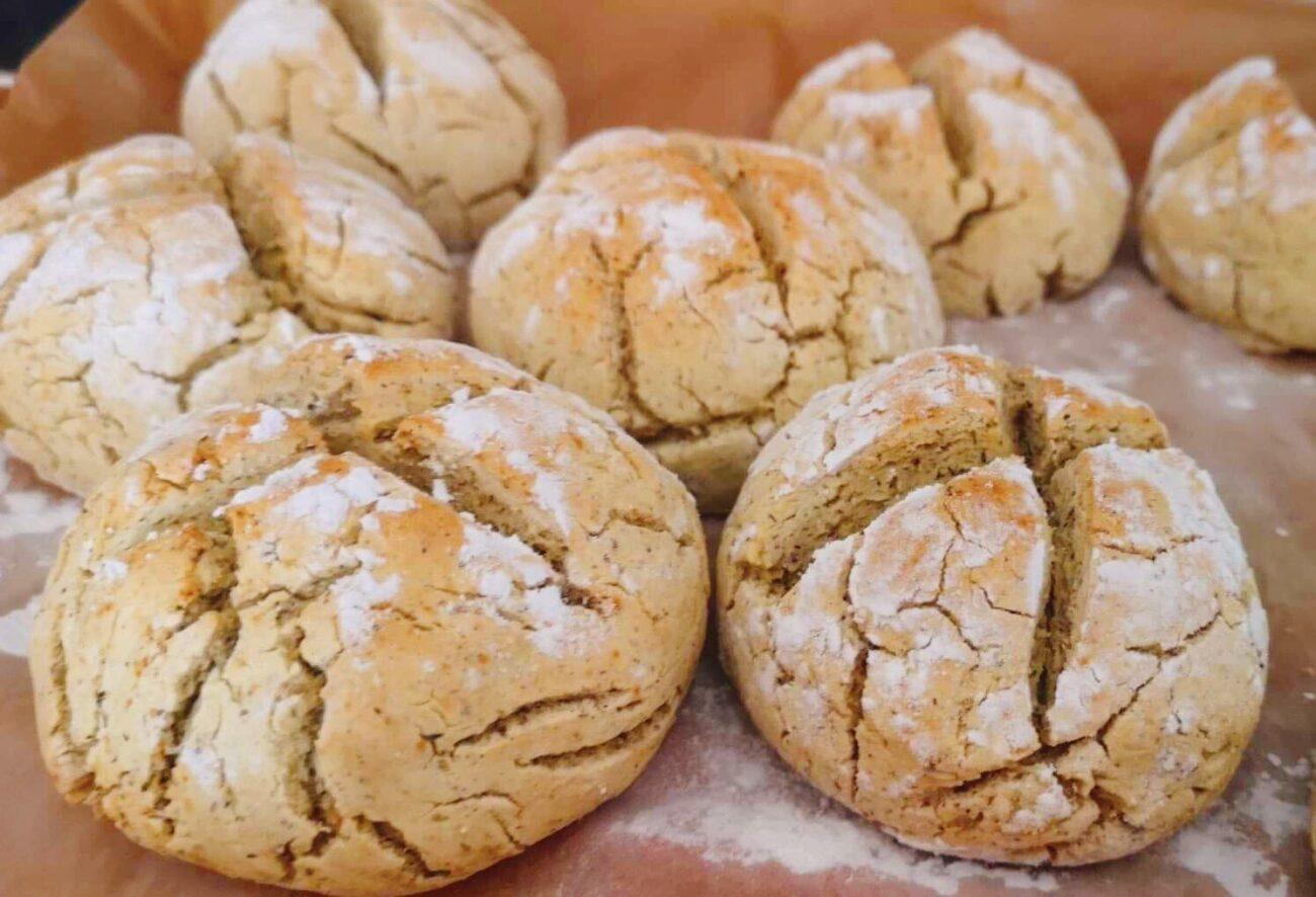 Pão de Batata-Doce – Sem Glúten, Sem Lacticínios