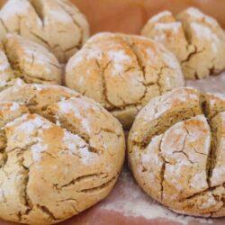 Pão de Batata Doce - Sem Glúten, Sem Lacticínios