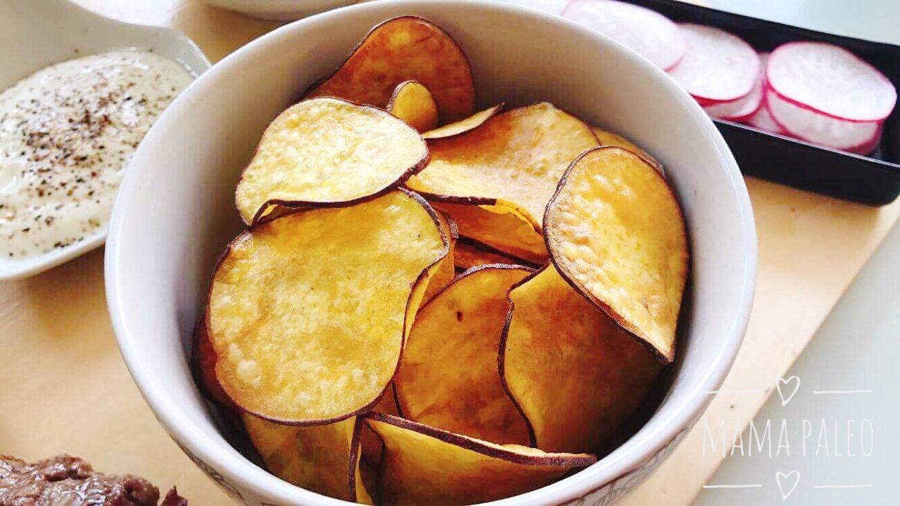 As Melhores Chips de Batata Caseiras – Perfeitas e Estaladiças