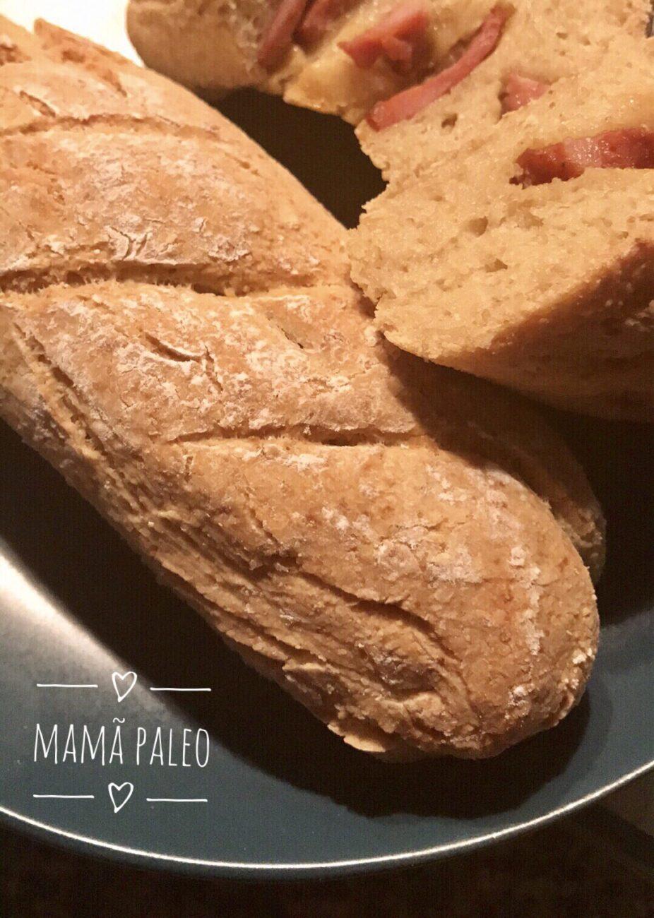 Pão com Chouriço – Sem Glúten, Sem Lacticínios