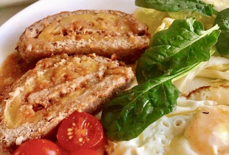 Rolo de Carne – Paleo, Sem Glúten, Sem Lacticínios
