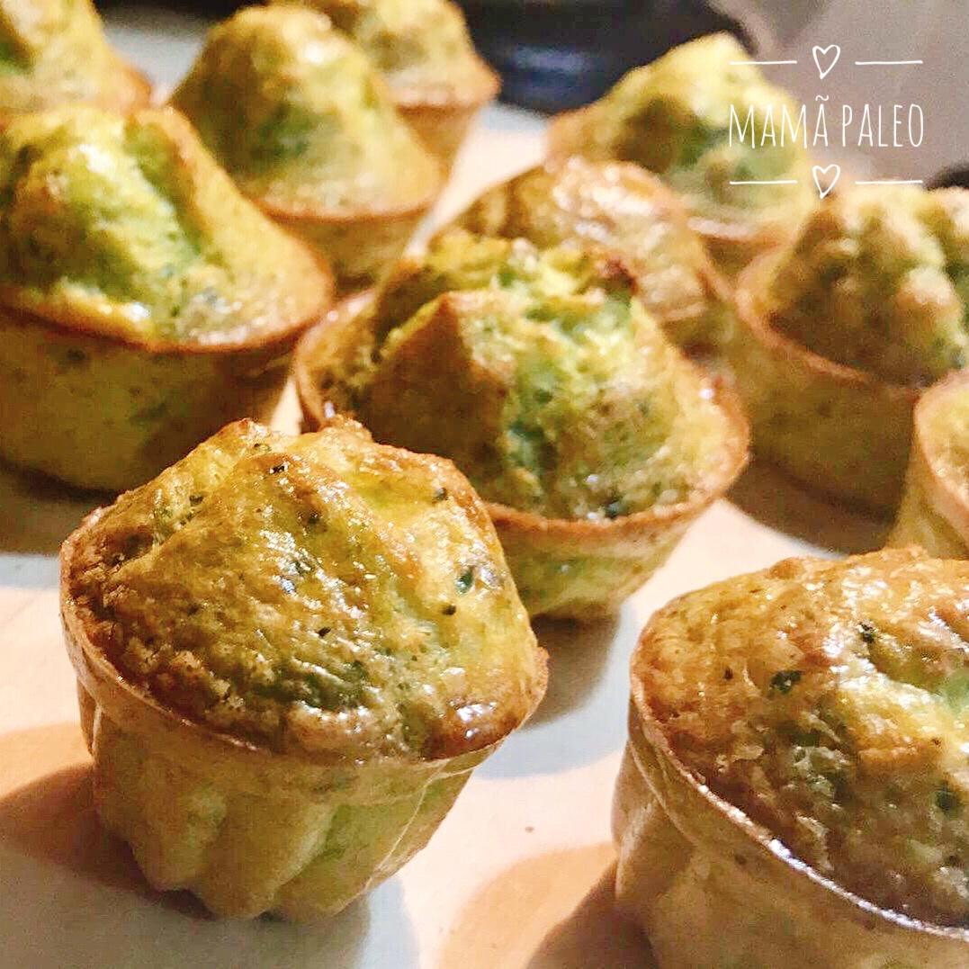 Muffins de Peixe e Legumes – Paleo, Low Carb, Sem Glúten, Sem Lacticínios