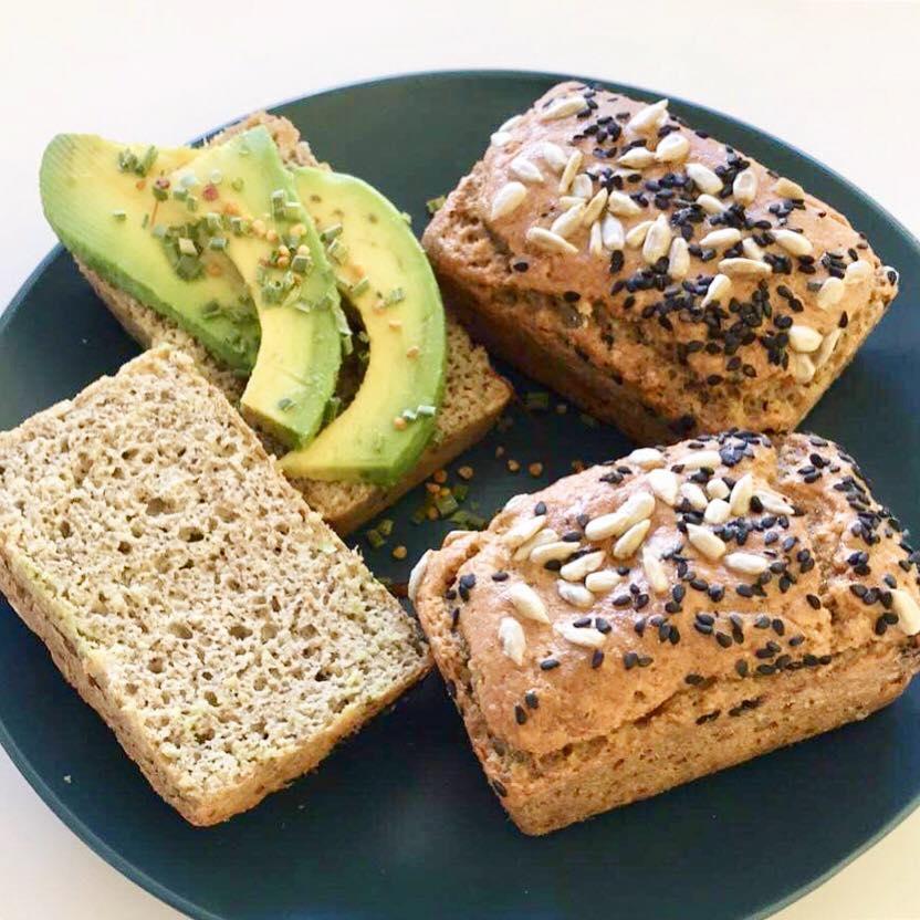 Pão de Canela – Paleo, Low Carb, Sem Glúten, Sem Lacticínios