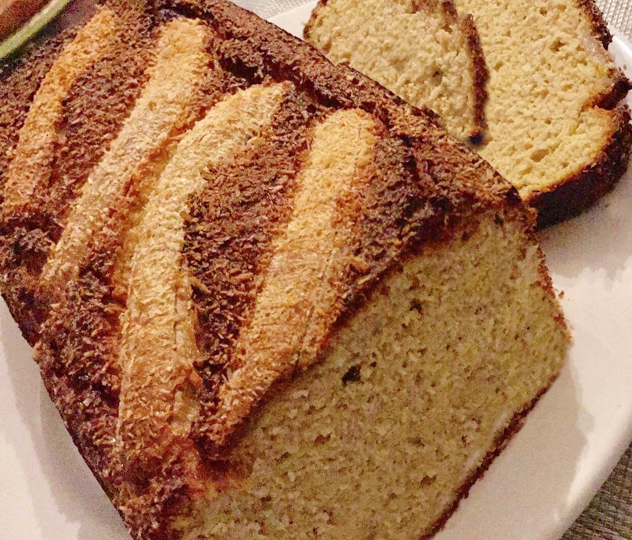 Banana Bread com Coco e Laranja – Paleo, Sem Glúten, Sem Lacticínios, Sem Açúcares Adicionados