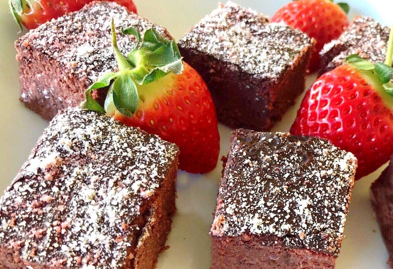 Brownies de Beterraba – Paleo, Vegan, Sem Glúten, Sem Lacticínios
