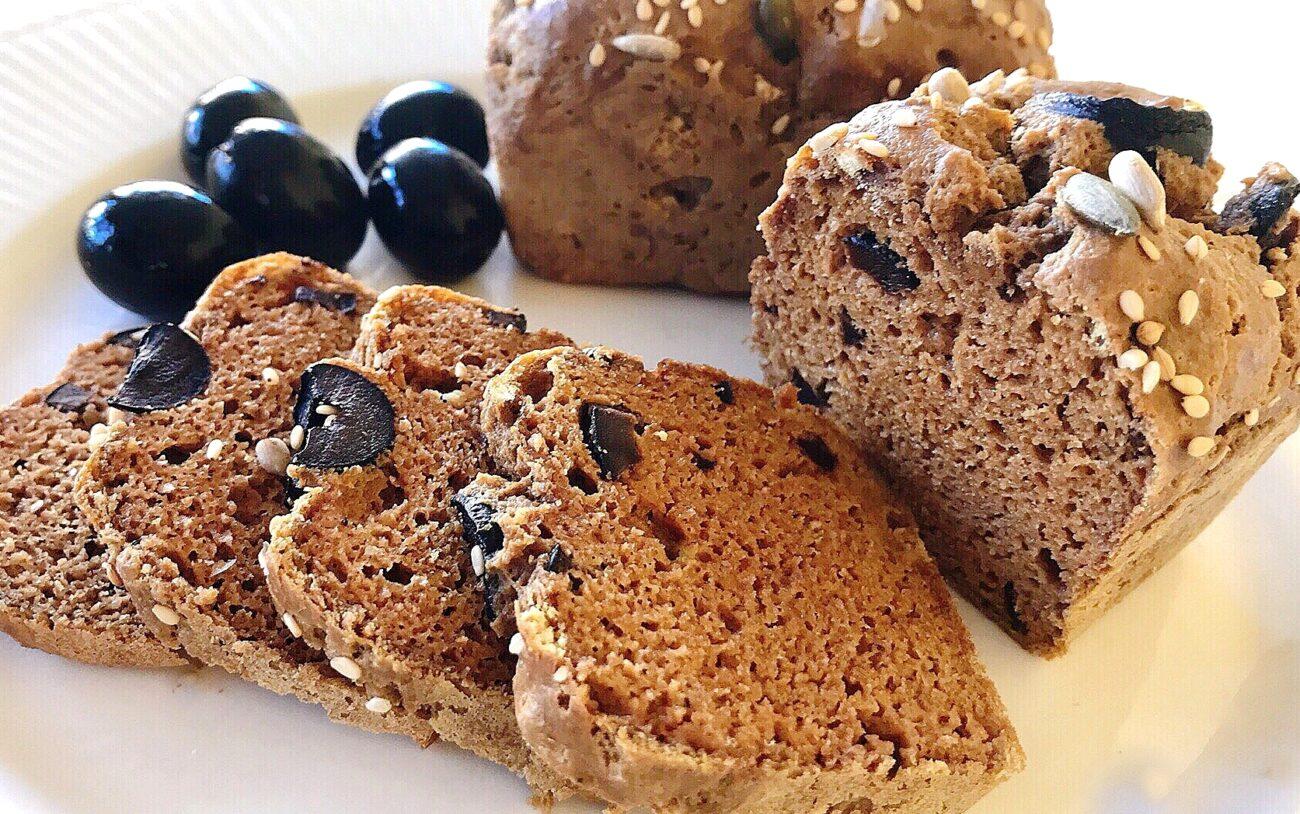 Pão de Azeitonas – Low Carb, Sem Glúten