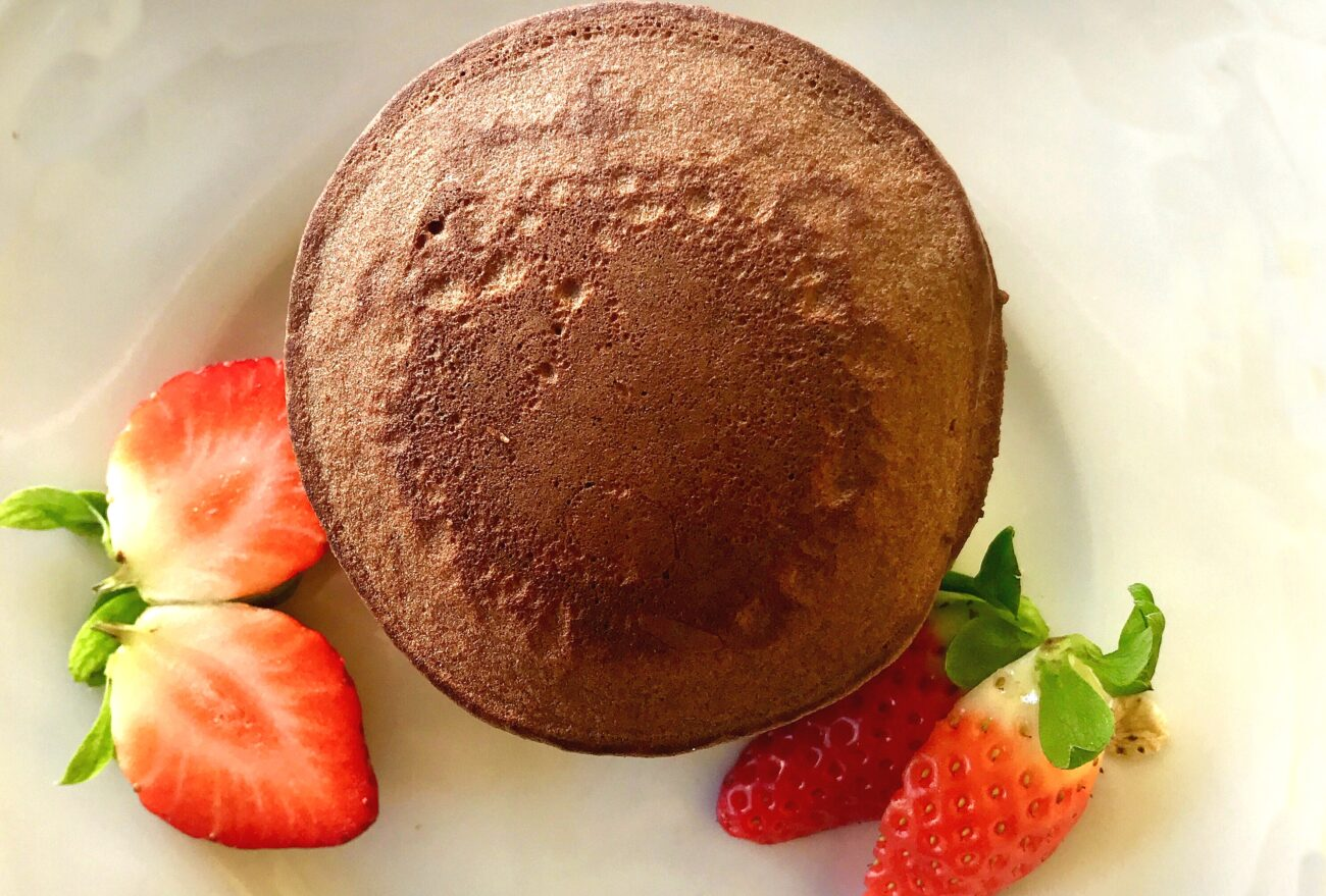 Panquecas de Chocolate e Banana – Sem Glúten, Sem Lacticínios