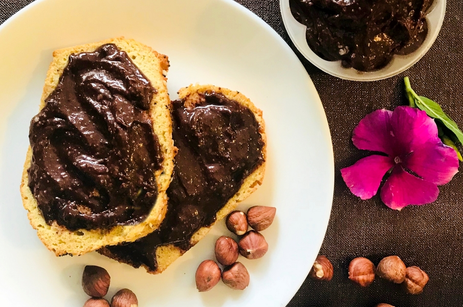 """Nutella"" Caseira – Vegan, Low Carb, Sem Glúten, Sem Lacticínios"