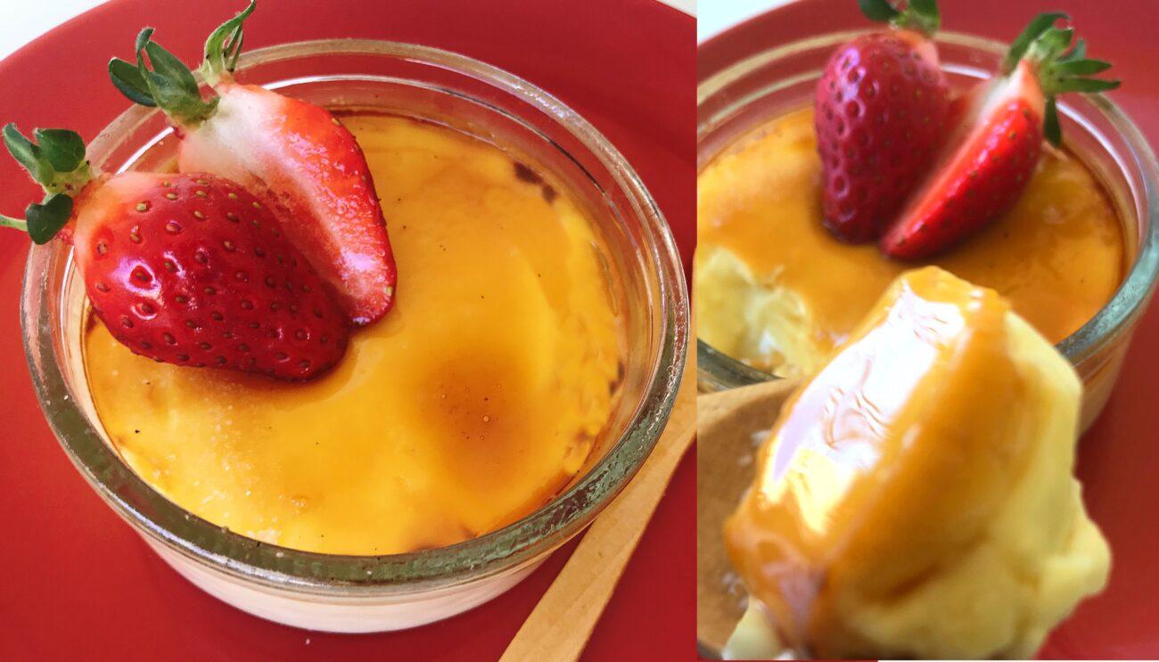 Crème Brûlée – Low Carb, Sem Glúten, Sem Lacticínios