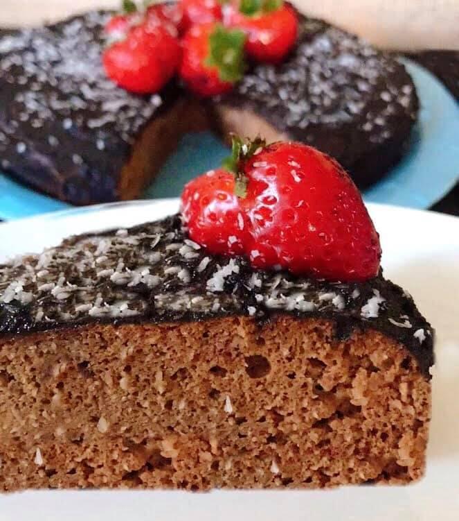 Bolo de Batata Doce e Chocolate – Sem Glúten, Sem Lacticínios
