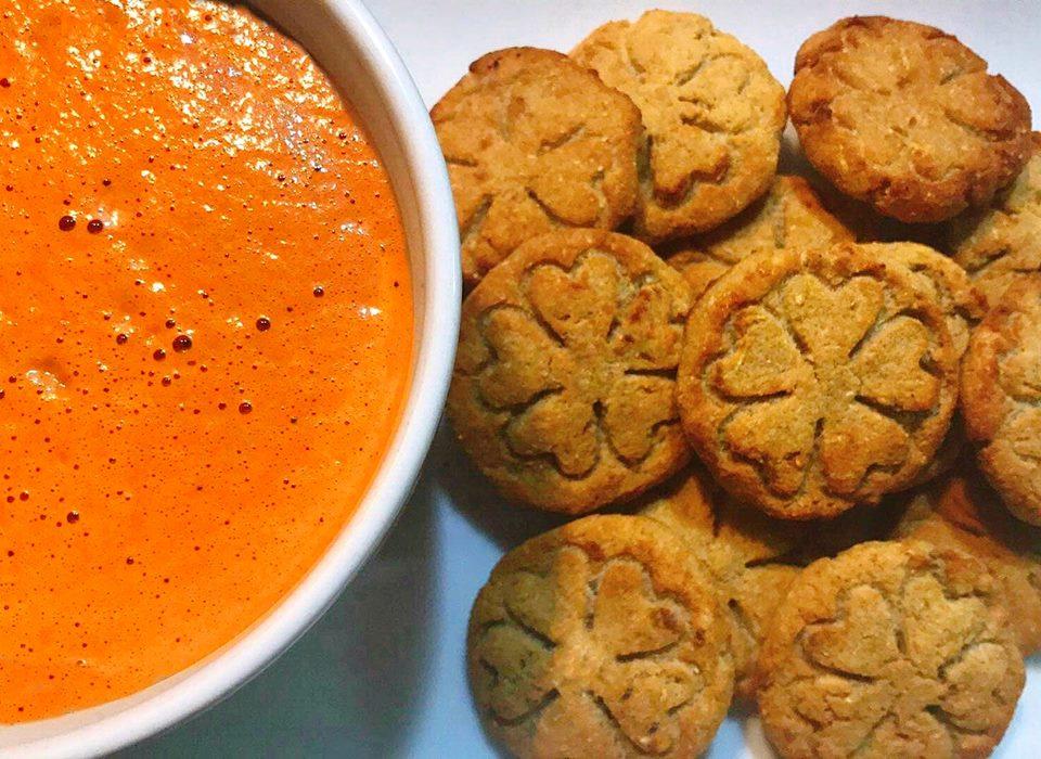 Bolachinhas de Batata-Doce – Vegan, Sem Glúten, Sem Lacticínios