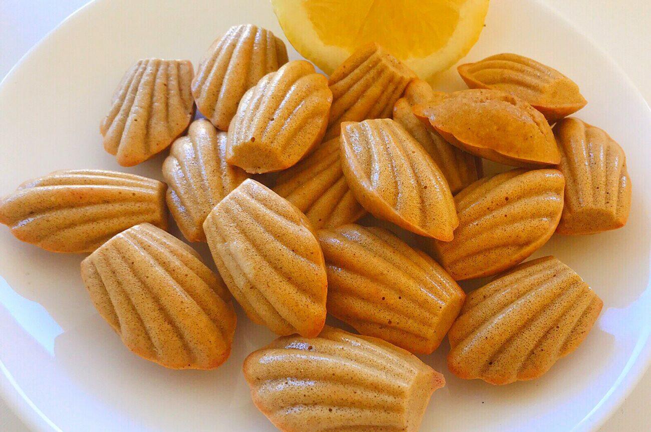 Madalenas de Limão – Sem Glúten, Sem Lacticínios