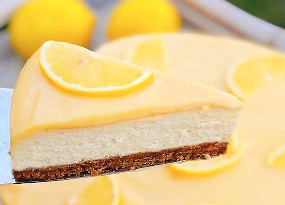 Semi-Frio / Cheesecake de Limão – Low Carb, Sem Glúten, Sem Lactícinios