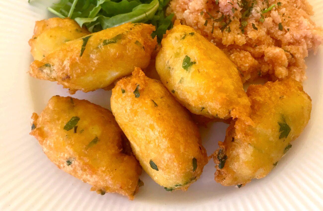 Pastéis de Bacalhau – Low Carb, Sem Gluten, Sem Lacticínios