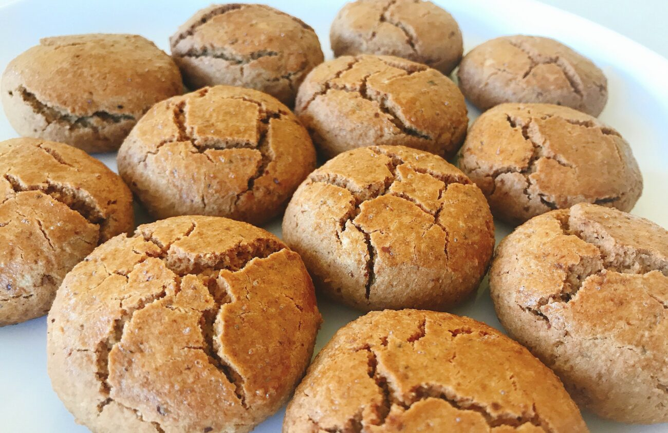 Biscoitos de Canela – Low Carb, Sem Gúten, Sem Lacticínios