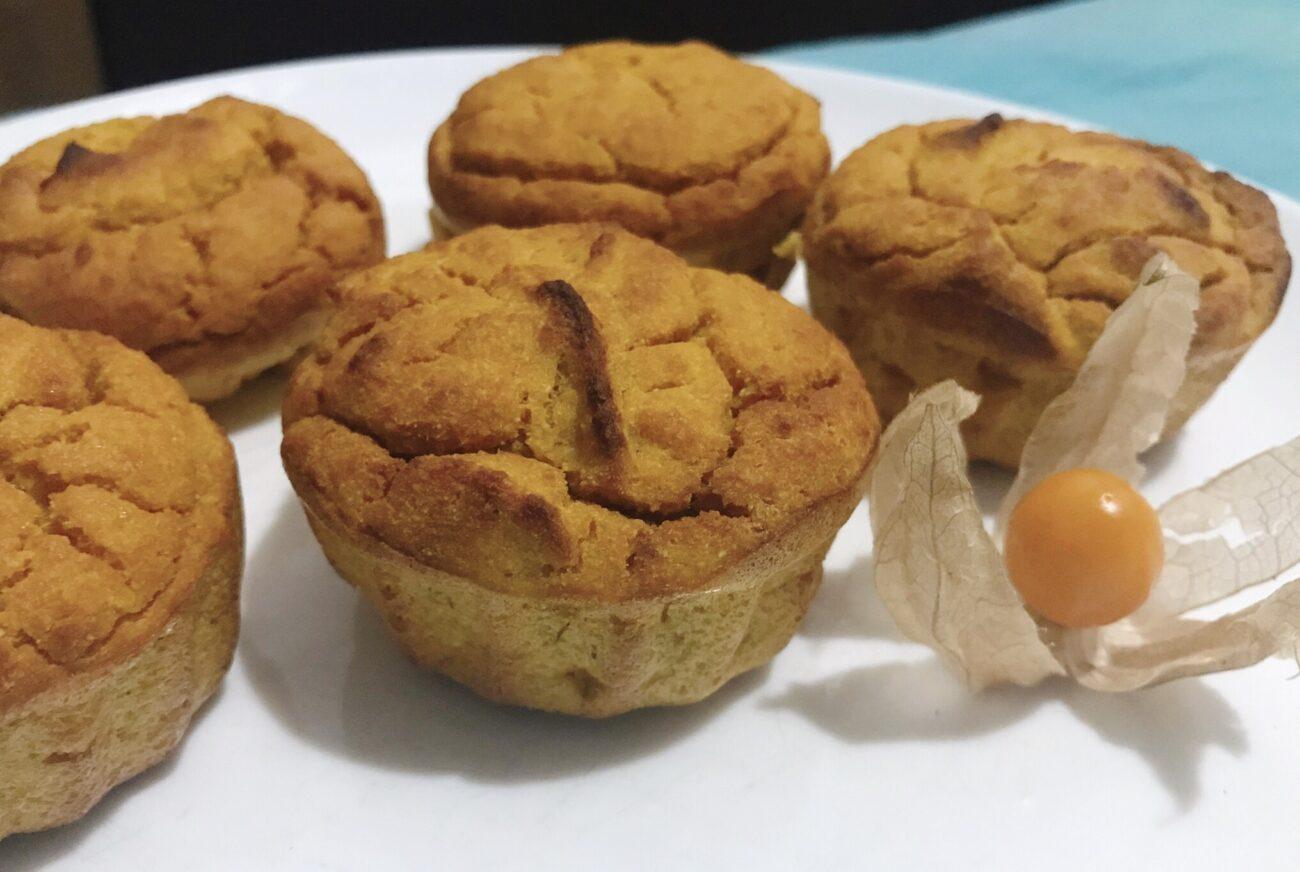 Muffins de Abóbora – Low Carb, Sem Glúten, Sem Lacticínios