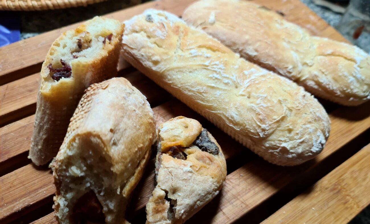 Pão Caseiro com Chouriça – Sem Glúten