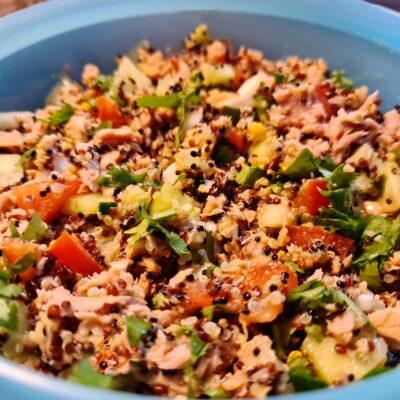 Mamã Paleo | Salada Quinoa e Atum