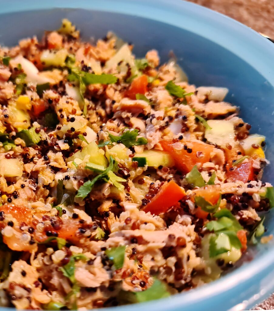 Mamã Paleo | Salada de Quinoa e Atum
