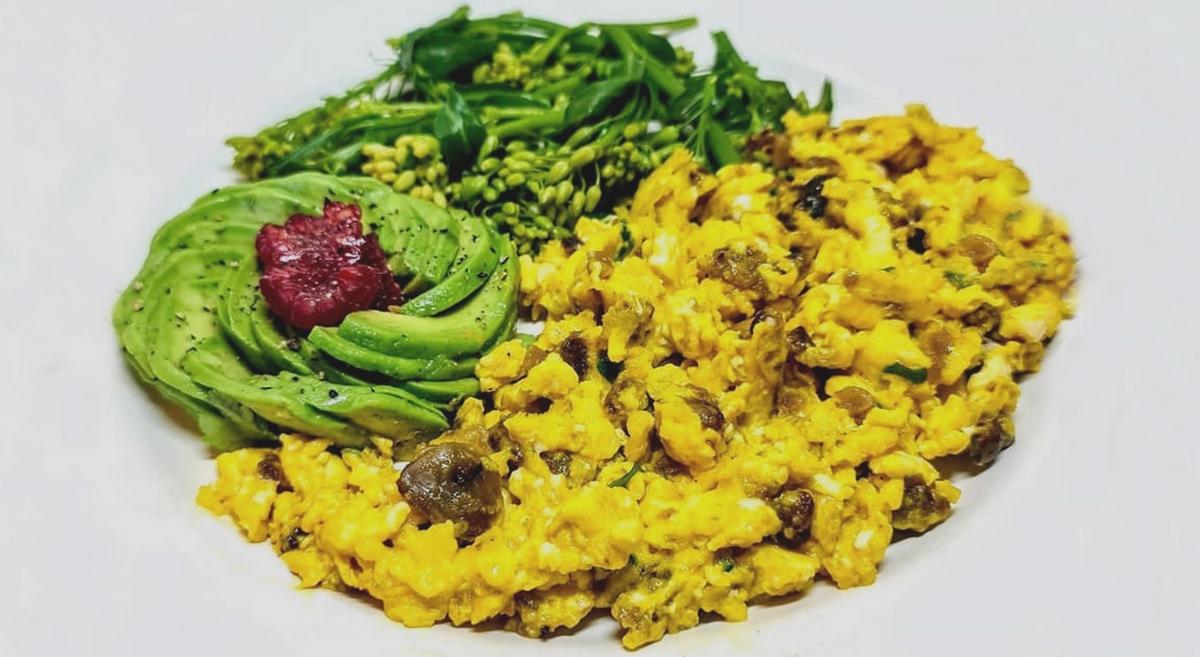 Ovos Mexidos com Farinheira em 5 minutos – Sem Glúten