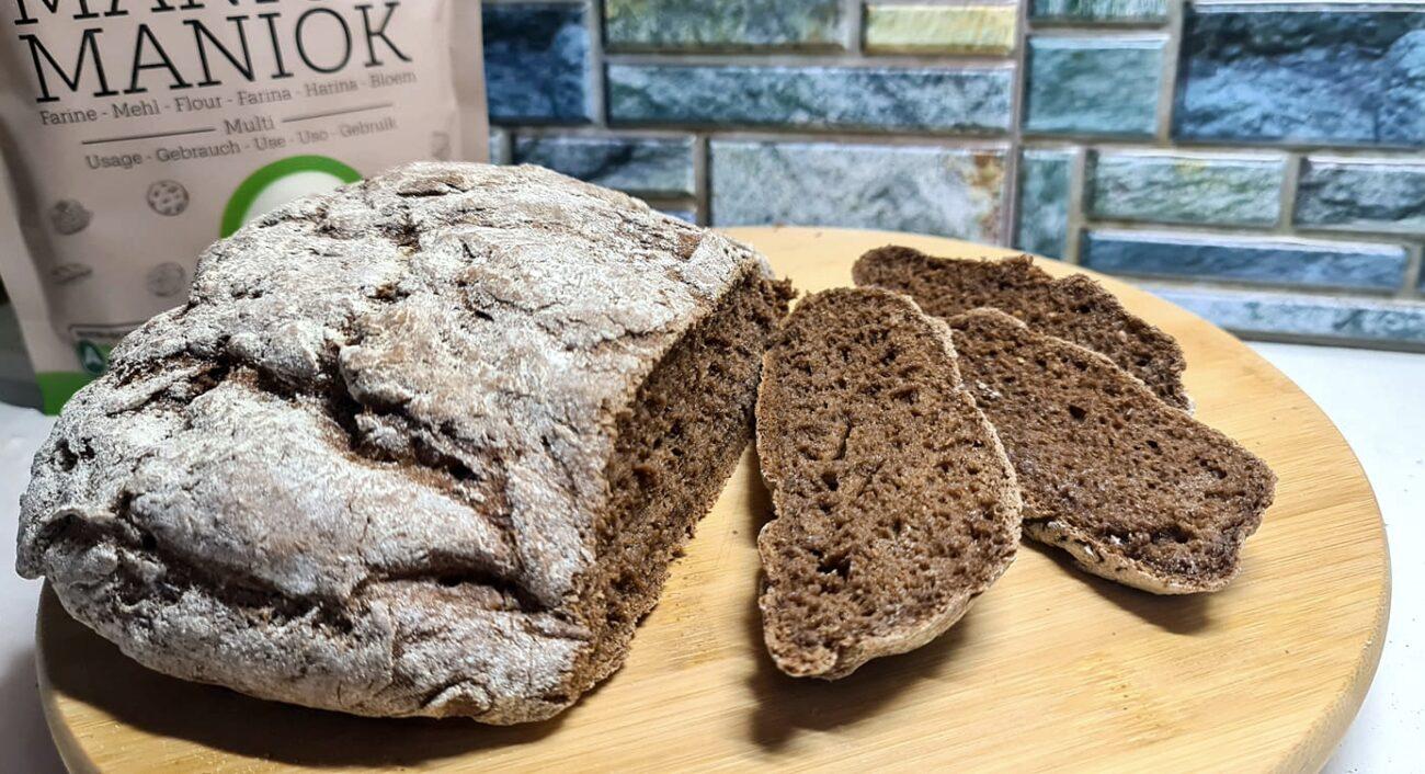 Pão Rústico de Alfarroba – Sem Glúten