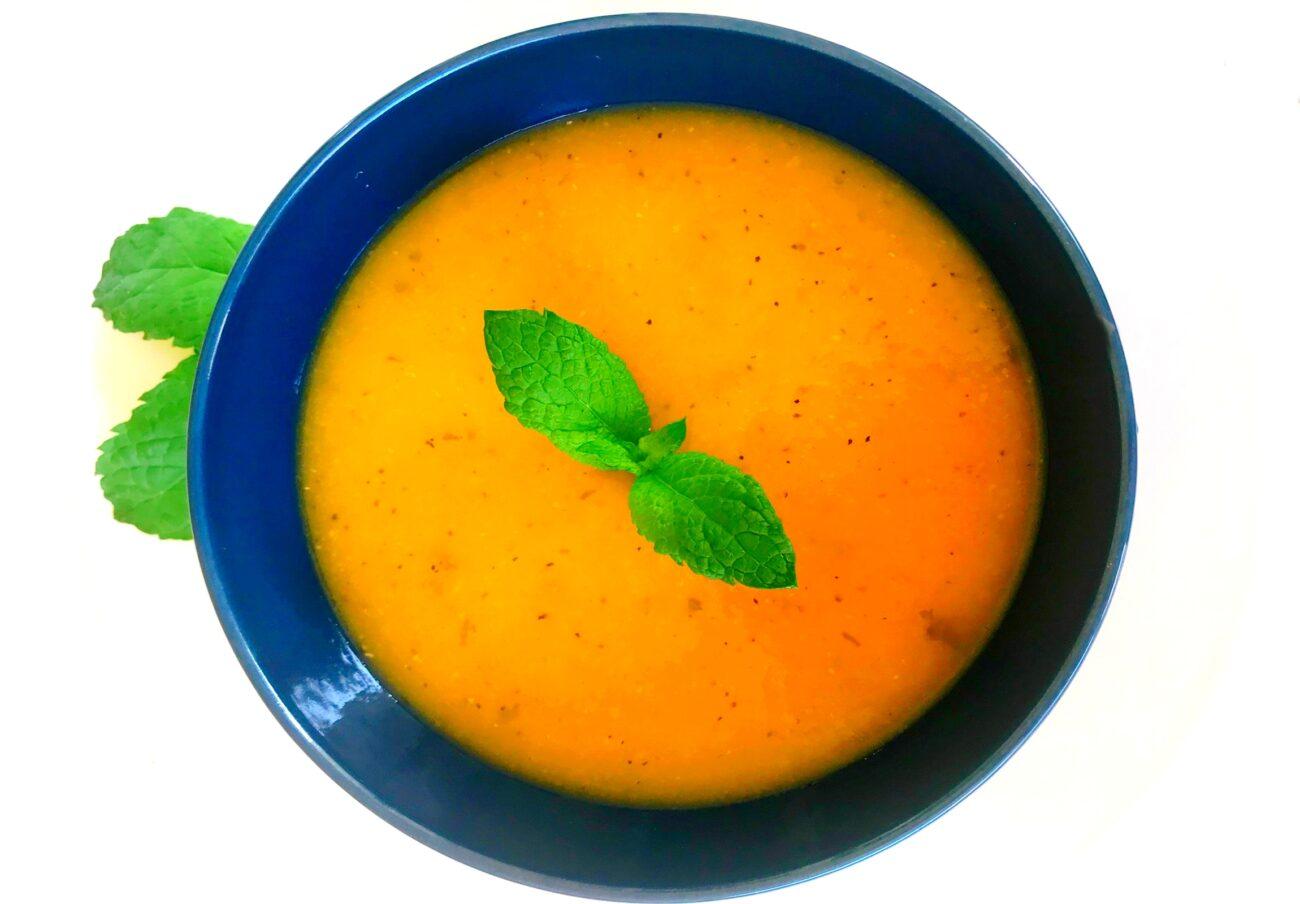 Sopa de Frango com Hortelã – Low Carb, Sem Glúten