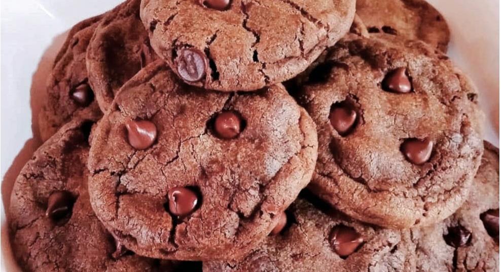 Cookies de Chocolate Low Carb – Sem Glúten, Sem Lacticínios